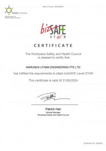 BizSAFE STAR until 21/06/2024