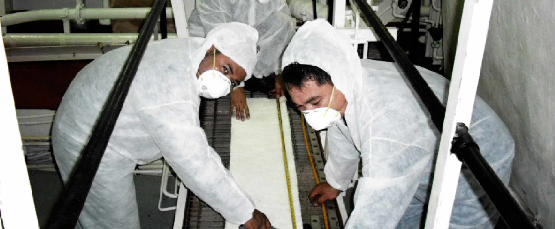 Installation of US Navy Approved/Mil-Specs Thermal and Acoustic Insulations